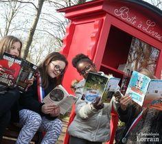 Boîtes à livres : Metz s'y met aussi !   Les Bibliothèques-Médiathèques de Metz dans la presse   Scoop.it