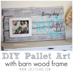 Top 34 Pallet Wall Art DIY Projects You Will Love