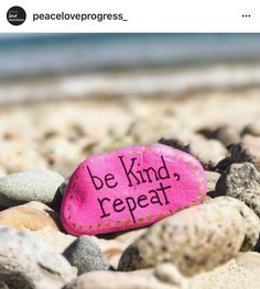 "141 Likes, 3 Comments - The Kindness Rocks Project (@thekindnessrocksproject) on Instagram: ""Check out @peaceloveprogress_ for their article on #thekindnessrocksproject ❤️✌"""