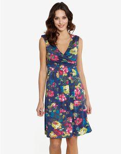 MARILYN Womens Printed Dress