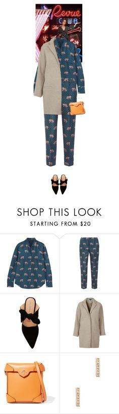 """""""Outfit of the Day"""" by wizmurphy ❤ liked on Polyvore featuring J.Crew, Ulla Johnson, Topshop, MANU Atelier, ootd and jcrew"""
