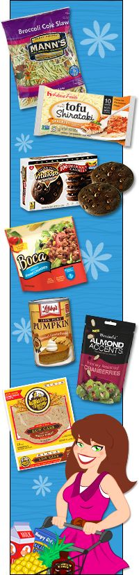 Supermarket Tips for Finding Hungry Girl Staples--pinned for slaw and wrapper recipes.