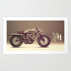 MOTO 39 Art Print by Holographic Hammer | Society6