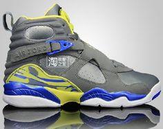 1fb0bd3ea83 Air Jordan VIII GS Laney (2013) Preview  sneakers  kicks Jordan Viii