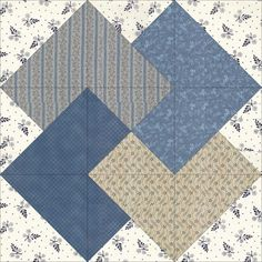 Make a quilt block every day for a year to build the ultimate sampler quilt! Quilt Block Patterns, Pattern Blocks, Quilt Blocks, Quilting Projects, Quilting Designs, Civil War Quilts, Sampler Quilts, Blue Quilts, Square Quilt