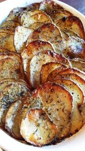 UNscalloped Potatoes