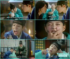 ra on bite Crown prince finger - Love in the Moonlight - Episode 2 KDrama Korean Drama Stars, Korean Drama Quotes, Kdramas To Watch, Cloud Quotes, Best Kdrama, Moonlight Drawn By Clouds, Drama Memes, Life Is Tough, Funny Scenes