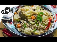 Peas Pulao - Instant Pot Recipe - YouTube