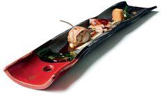 """""""Coniglio in 3 modi"""" dello chef Daniele Sera del Ristorante Tosca di Casole d'Elsa (SI) #lamadia #lamadiatravelfood #food"""