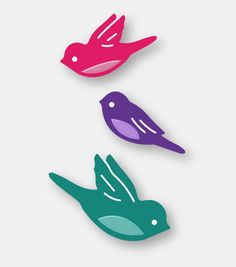 Couture Creations - Decorative Dies - Bird Song #CoutureCreations