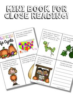 Education to the Core: Pumpkin Life Cycle Writing Pack and Freebie!