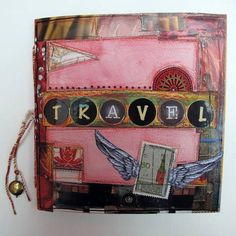 Ideas for Creating a Travel Journal - PAPER CRAFTS, SCRAPBOOKING & ATCs (ARTIST TRADING CARDS) - Knitting, sewing, crochet, tutorials, children crafts, papercraft, jewlery, needlework, swaps, cooking and so much more on Craftster.org