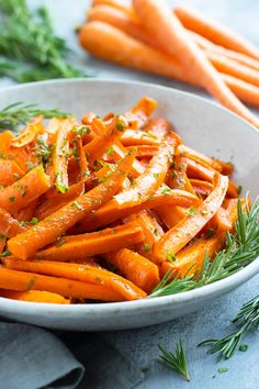 Honey Roasted Carrots Recipe with Herbs yummy Honey roasted carrots are tossed in a candy honey and herb sauce for a fast and smooth aspect dish recipe. discover ways to make roasted carrots with just a few easy ingredients. Herb Recipes, Carrot Recipes, Veggie Recipes, Cooking Recipes, Gluten Free Recipes Side Dishes, Healthy Side Dishes, Side Recipes, Honey Roasted Carrots, Cooked Carrots