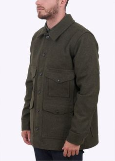 7d27182416b32 Buy Mackinaw Cruiser Jacket - Forest Green by Filson from our Triads Mens  range - Green