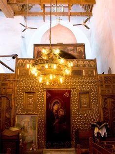 Abu Sarga (St Segius) ivory inlaid iconostasis