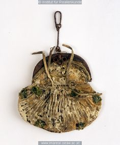A belt-purse, 15th century