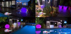 LiveDeco.com partenaire de l'émission M6 D&CO. Boules et pots lumineux : http://bit.ly/1qGEzj5