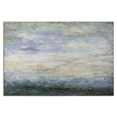 32229 Free Fall Abstract Landscape Art W 60 H 40 #5Foot $370
