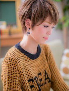 カバーヘアアンドスパ ブリス 浦和西口店(COVER HAIR & SPA bliss) *+COVER HAIR+*…ツヤ色輝く☆ナチュラルショートb