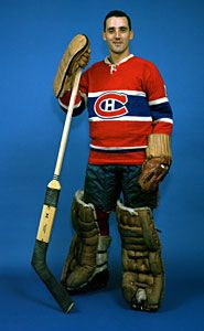 Legends of Hockey - Spotlight - Jacques Plante - Montreal Canadiens - Montreal Canadiens, Mtl Canadiens, Hockey Goalie, Hockey Players, Ice Hockey, Maurice Richard, Famous Veterans, Goalie Mask, Montreal Quebec