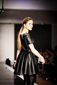 Pasarela GasteizOn, Marzo 2013. Leather Skirt, Stars, Fashion, March, Walkway, Spring Summer, Feminine, Moda, Leather Skirts