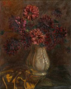Vaso com flores - Georgina de Albuquerque