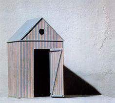 rationalistarchitecture: Aldo Rossi Cabine dell'Elba Furniture, Model, 1979