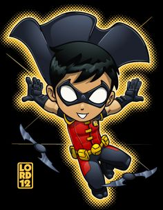 Young Justice- Robin by lordmesa.deviantart.com