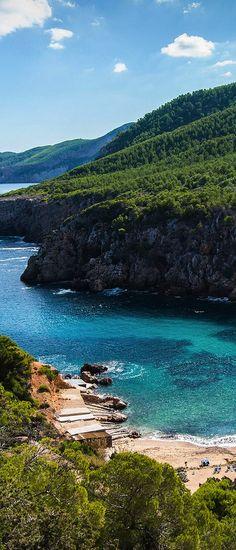 Cala d'en Serra / Ibiza, Spain #Ibizaplayas #Eivissa
