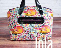 Swoon Patterns: Lola Domed Handbag - PDF Vintage Purse Tote Handbag Bag Sewing Pattern