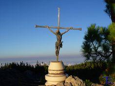 #Spain #Canarias #GranCanaria  El reflejo de mi mirada: Cruz en la cumbre