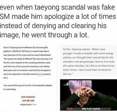This is unfair. I love Taeyong so much and I still feel for him.