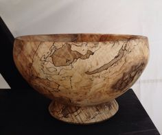 All over the map maple bowl