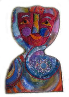 Elizabeth Armstrong - Canvas and Felt Figure