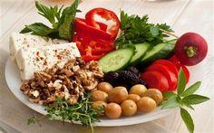 Karatay Kahvaltı Tabağı Get Healthy, Healthy Life, Healthy Living, Gluten Free Recipes, Healthy Recipes, Breakfast Items, Turkish Recipes, Aesthetic Food, Cobb Salad