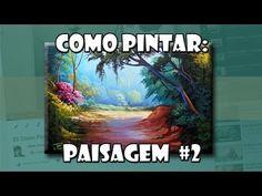 Como Pintar: Paisagem #2 ( Passo a Passo ) - YouTube