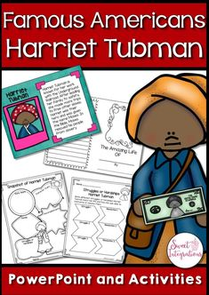 ideas for free black history month activities harriet tubman Harriet Tubman Biography, Social Studies Resources, Teaching Resources, Teaching Ideas, Famous Black Americans, Fourth Grade, Third Grade, Black History Month Activities