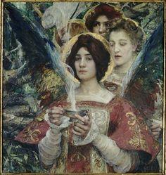 Edgard Maxence (1871-1954) L'Âme de la forêt, 1898 Nantes, Musée des Beaux-Arts