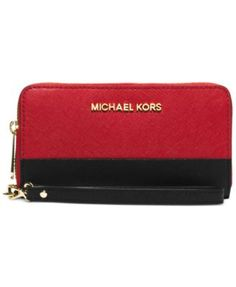 Michael Michael Kors Jet Set Travel Large Coin Multifunction Wallet