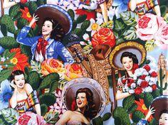 Alexander Henry 'Las Senoritas' Fabric-