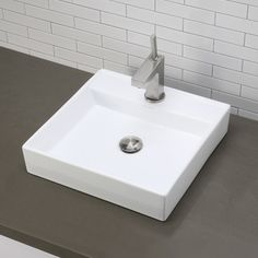 Found it at AllModern - Classically Redefined Square Vessel Bathroom Sink