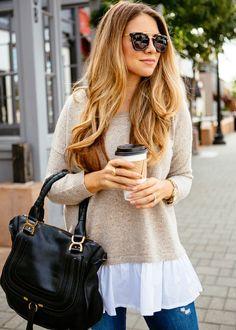 The Layered Sweater | The Teacher Diva