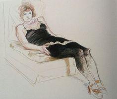 David Hockney, Celia