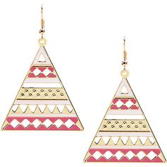 Yoins Colorful Triangle Hook Earrings Without Stone ($4.13) ❤ liked on Polyvore featuring jewelry, earrings, black, tri color earrings, triangular earrings, colorful jewelry, multicolor earrings and multi colored jewelry