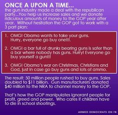 The truth about the lying GOP + NRA.