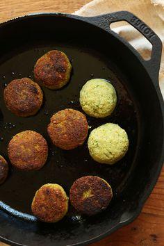 PERFECT 10-ingredient Classic Falafels! Crispy, tender, SO flavorful! #vegan #glutenfree #falafel #recipe #dinner #minimalistbaker
