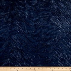 Minky Soft Bengal Cuddle Navy from @fabricdotcom  This soft and textured Cuddle plush minky has a silky soft tiger stripe-look embossed surface and 10mm pile. Fabric is perfect for apparel accents, blankets, throws, pillows, baby accessories, stuffed animals and more!