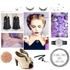 """Vintage simplicity"" by karalfalk on Polyvore"