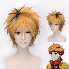 Tokyo Ghoul - Short, synthetic hair Hideyoshi Nagachika Cosplay Wig. #tokyoghoul #hair #anime #cosplay #wigs