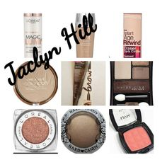 Jaclyn Hill's drugstore makeup. I already have the foundation. I need the rest. Esp the amber rose eyeshadow.